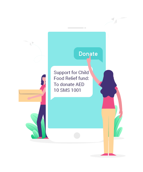 SMS for Charity/Welfare Organisations