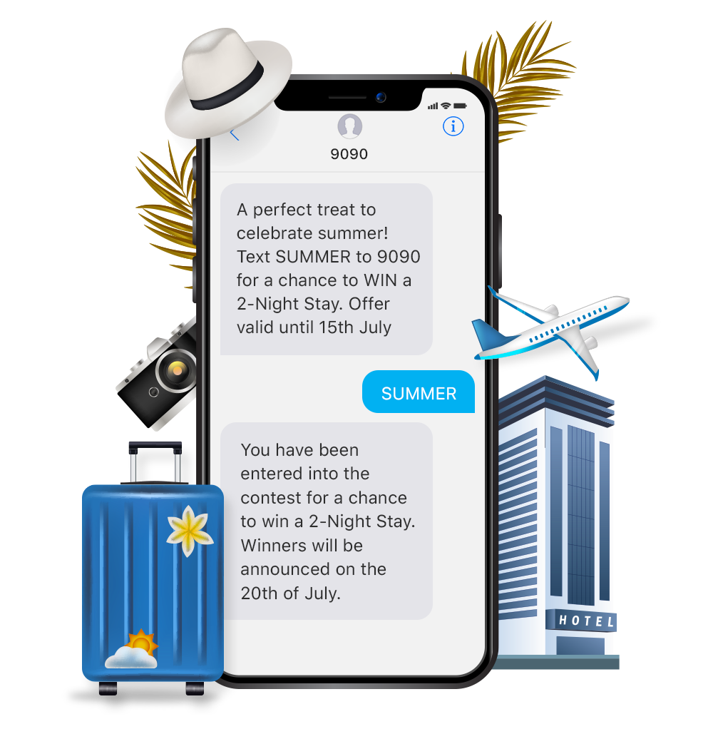 Why the Hospitality and Tourism Industry should use Reson8 SMS